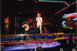 Joan Harzich-Sipich performs at the Peppermill Lounge in Reno, Nevada