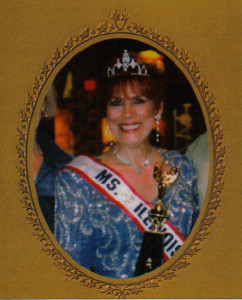 Joan Harzich-Sipich as Ms. Illinois Senior America